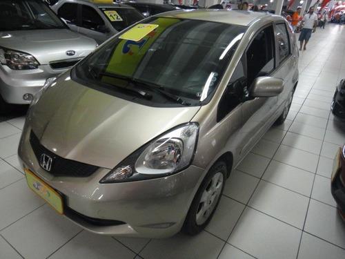 honda fit 1.4 lxl flex aut. completo abs rodas dourado 2011