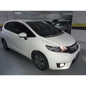 Honda Fit 1.5 Ex Flex Aut. 5p Branco 2015