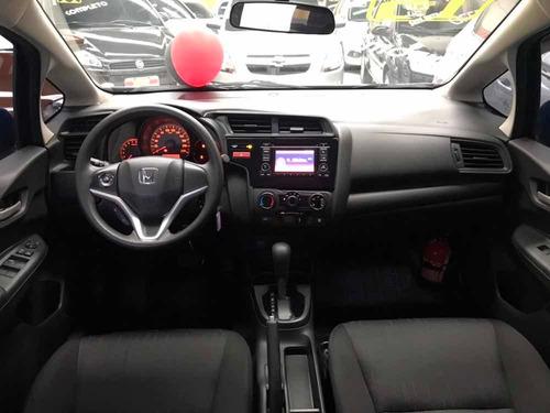 honda fit 1.5 ex flex automático 2015 kingcar multimarcas