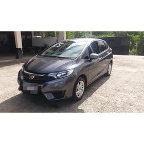 Honda Fit Automático Lx 2015-tem Manual E Chave Reserva