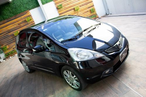 honda fit ex-l automático l-09 nafta 2010 negro