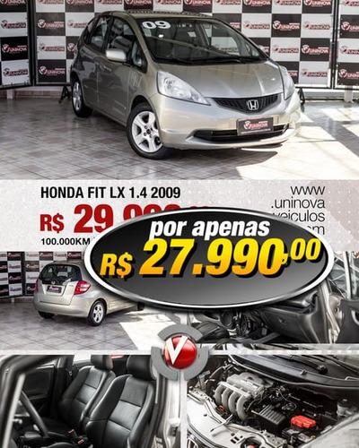 honda fit lx 1.4 flex 5p mec 2009