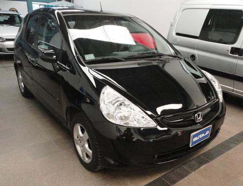 honda fit lx 1.4 nafta 2007 5 puertas negro espectacular!!!