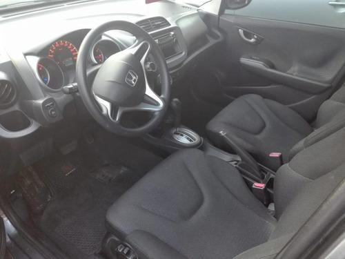 honda fit lx automatico. color gris año 2009 5 puertas