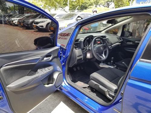 honda fit lx mecanico 2015 azul sport brillante 5 puertas