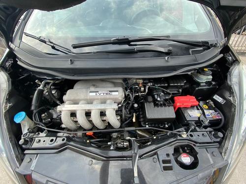 honda fit lxl 2009 automático preto