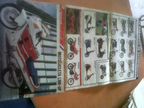 honda  folleto  informativo exelente (laminas) !!!!
