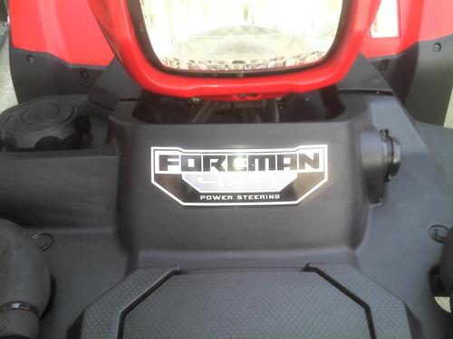 honda foreman 500  4x4 linea nueva