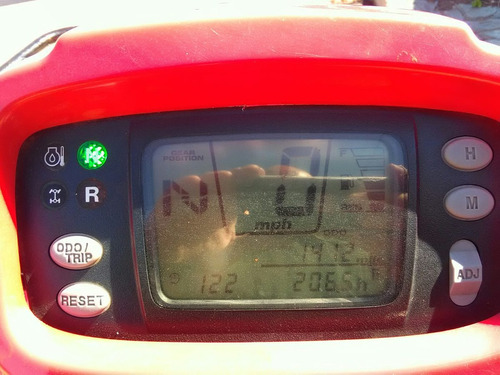 honda foreman trx500e  okm solo tiene 2000km patentada nueva