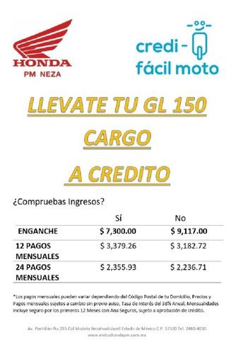 honda gl 150 cargo modelo 2020