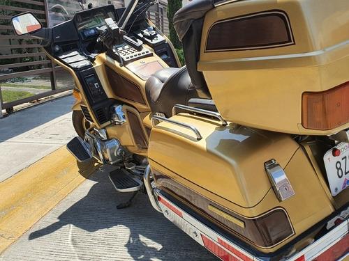 honda gl1200 limited edition, cambio por auto!