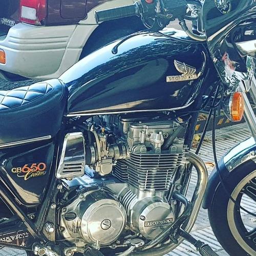 honda honda cb 650 custom 1980