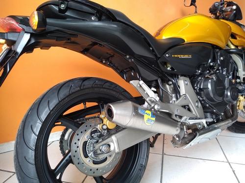 honda hornet 600 2010 dourada
