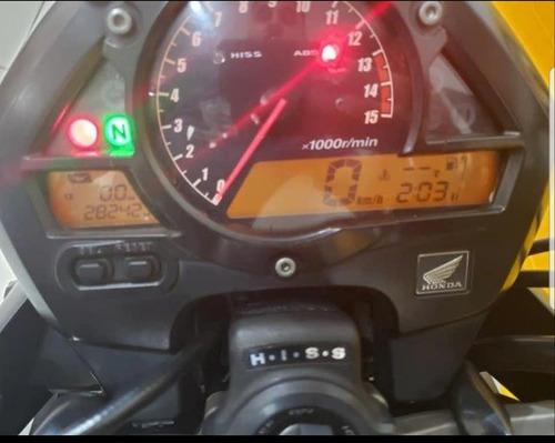 honda hornet  600 f - 2010 - preta - km 28 000