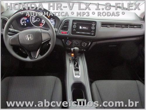 honda hr-v lx automatica 1.8 flex- 17/18 0km- pronta entrega