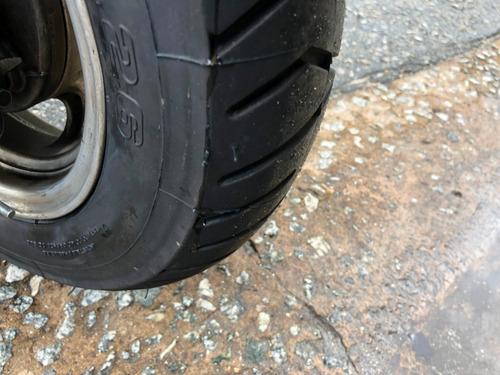 honda lead 110 2011 (2 pneus novos)