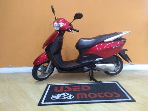 honda lead 110 2014 vermelha