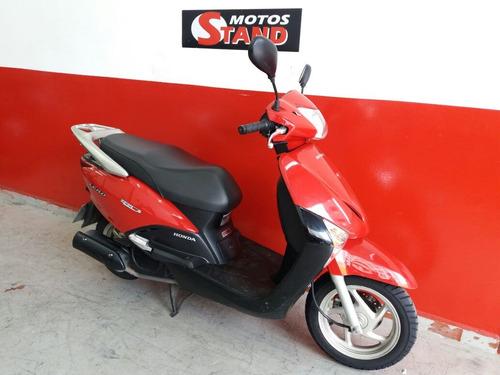 honda lead 110 2015 vermelha