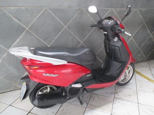 honda lead 110 vermelha 2011