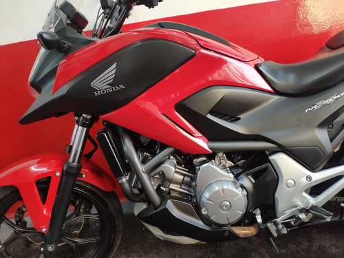 honda nc 700 x 700x 2013 vermelha vermelho