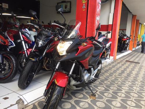 honda nc 700x ano 2014 com apenas 15.300 km shadai motos