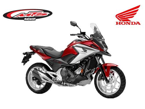 honda nc 750x motosur blanco mate unica 2018 0 km