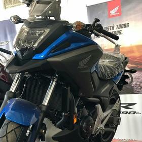 Honda Nc750x Color Azul-
