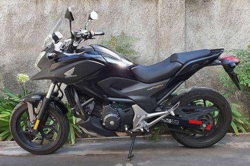 honda nc750x negra 2015