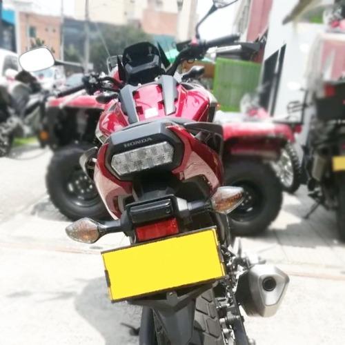 honda nc750x roja 2017