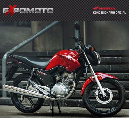honda new cg titan 150  - 0km - rojo - 2017 - expomoto sa