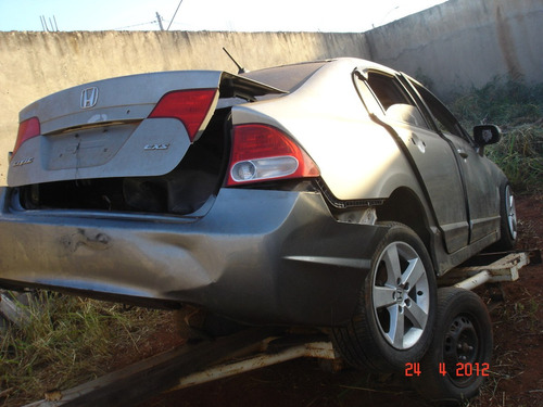 honda new civic    2007*2008  sucata de   leilao