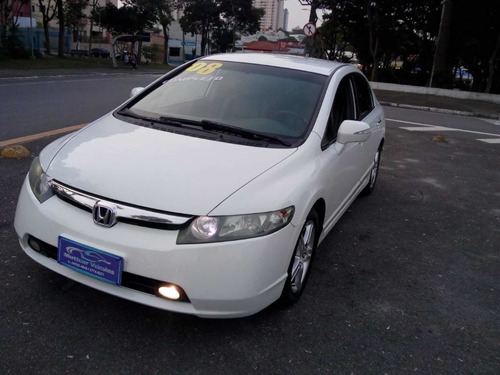 honda new civic 2008 exs flex  sem entrada