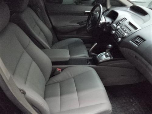 honda new civic lxl 1.8 16v flex aut 2011 completo + couro!