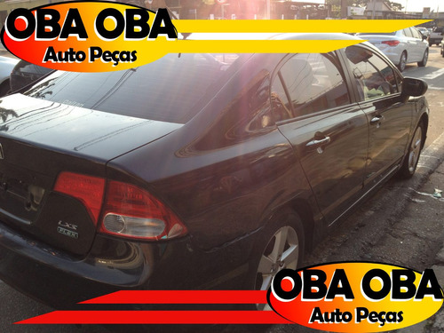 honda new civic lxs 1.8 8v 2008/2008 sucata p/ retirar peças