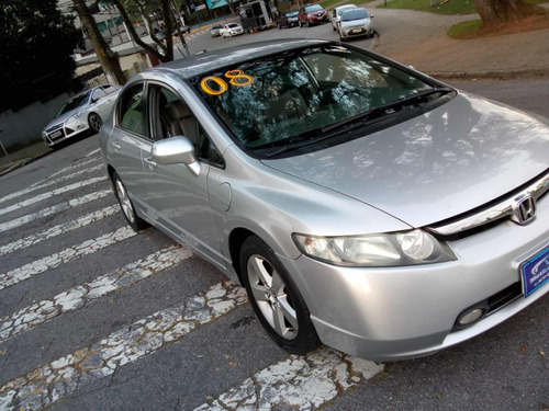honda  new civic lxs 2008 automatico s/entrada