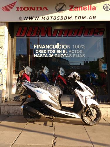 honda new elite 0km elite financio permuto dbm motos