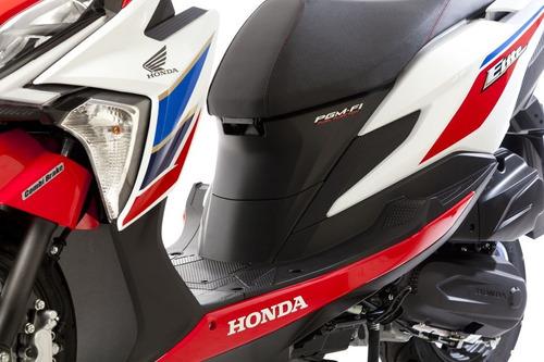 honda new elite 125 tricolor