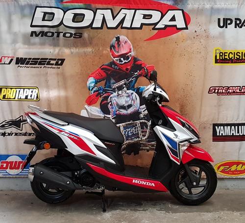 honda new elite 125 tricolor scooter calle nuevo dompa motos