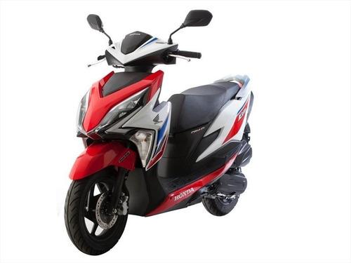 honda new elite 125 tricolor scooter permutas dompa motos