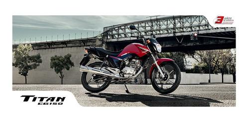 honda new titan 150 cg ybr ns 0km financio permuto qr motors
