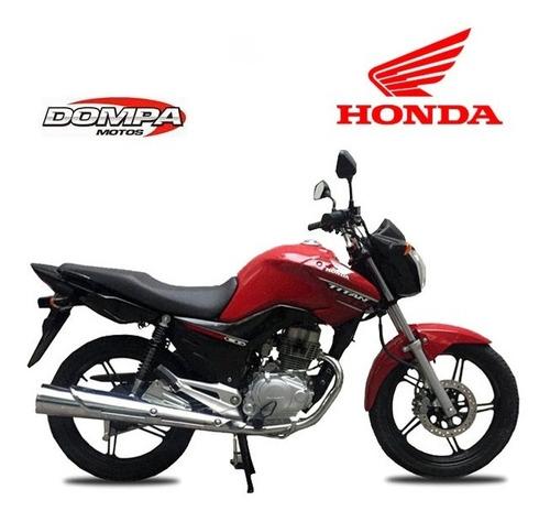 honda new titan cg 150 linea nueva calle  flete dompa motos