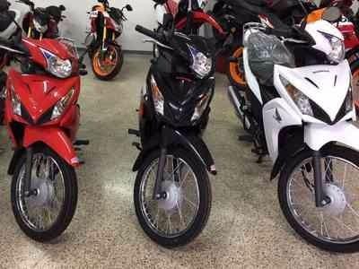 honda new wave okm 2017 stock tomo moto financio