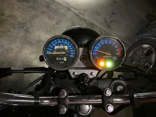 honda nighthawk cb 750 negra
