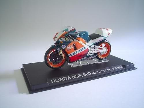 honda nsr500 michael doohan 1998 coleccion motos