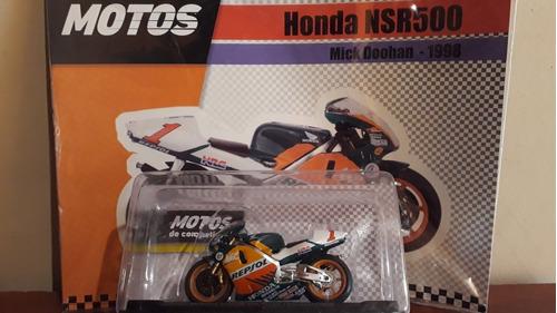 honda nsr500 - mick doohan 1998 - escala 1.24 - colección
