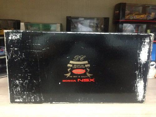 honda nsx kyosho primeira edição 1/18 rara c/caixa