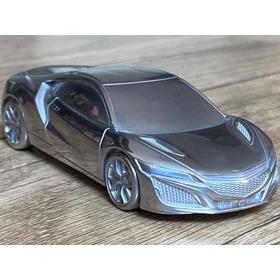 Honda Nsx Miniatura 1:43 Em Alumínio Sólido Com Pendrive
