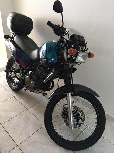 honda nx350 sahara - 1996 - raridade !!!