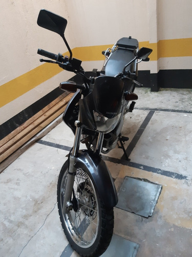 honda nx400 falcon carburada