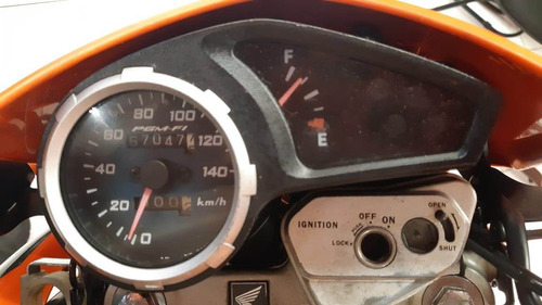 honda nxr 150 esd 2012 laranja